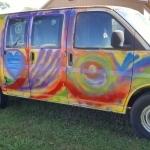 It's Repaint The Hippie Van Day 4