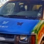 It's Repaint The Hippie Van Day 1