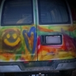 It's Repaint The Hippie Van Day 3