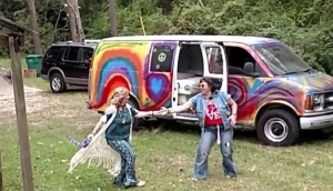 hippie wedding dance