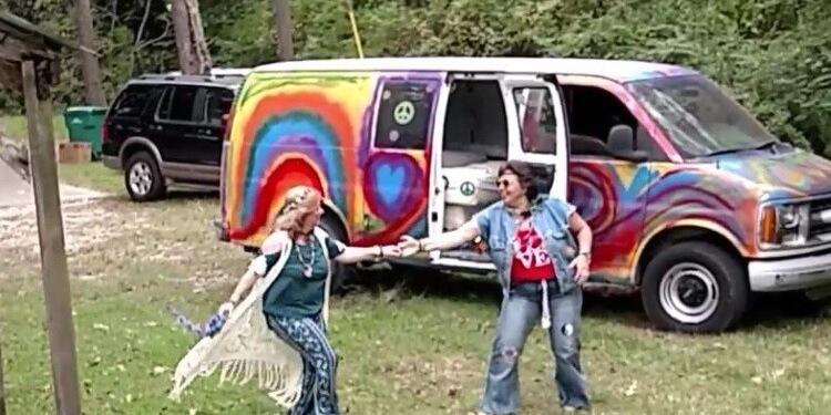 hippie wedding dance