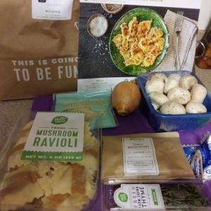 Mushroom Ravioli ingredients