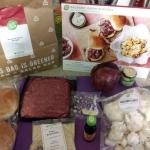 Balsamic Onion Burgers with Crispy Crumbed Cauliflower ingredients