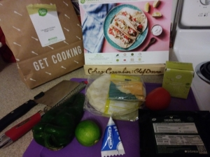 Chicken tomatillo tacos ingredients