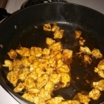 pan-cooked chicken