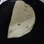 quesadilla ready to grill
