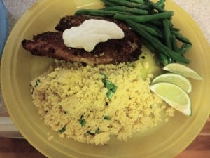 Tex Mex Tilapia meal kit