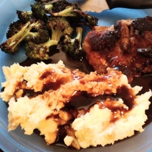 Balsamic Glazed Chicken Thighs meal kit