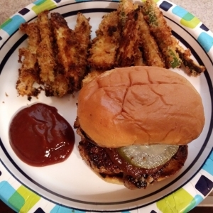 BBQ Pork Burgers meal kit