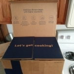 Blue Apron Box Lid