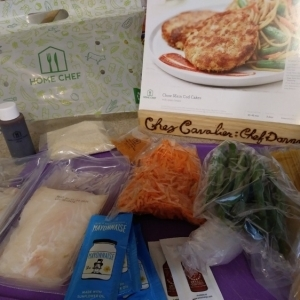 Chow Mein Cod Cakes ingredients