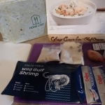 French Onion Shrimp and Grits ingredients