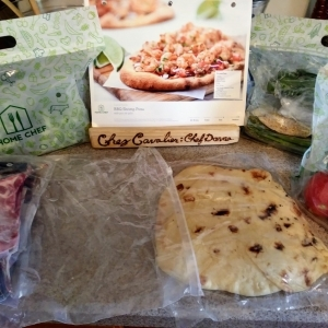 Home Chef meal kit unboxing