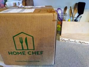 Home Chef unopened box