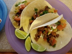 Pineapple Pablano Beef Tacos meal kit