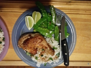 Thai Lemongrass Chicken meal kit