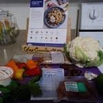 Za'atar Roasted Cauliflower over Date-Farro Salad ingredients