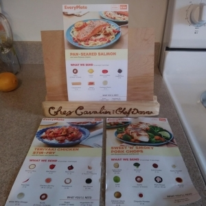 EveryPlate recipe cards