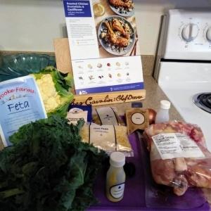 Mediterranean Chicken Orzo ingredients