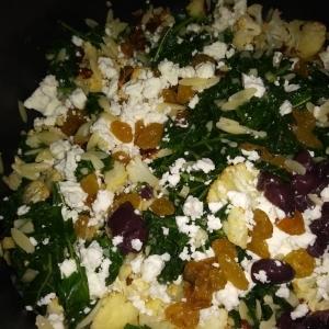 Kale and Cauliflower Orzo Salad