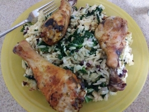 Mediterranean Chicken Orzo meal kit