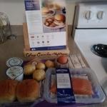 Salmon Burgers Ingredients