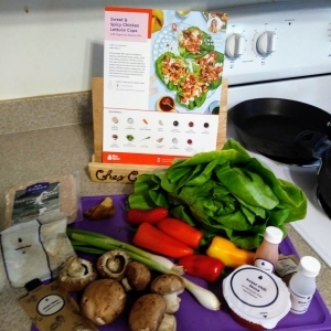 Sweet and Spicy Chicken Lettuce Cups ingredients