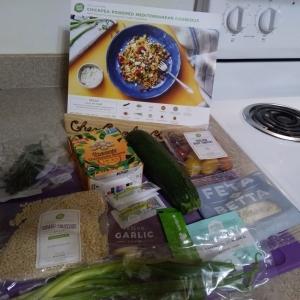 Chickpea Mediterranean Couscous ingredients