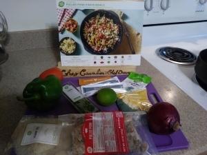 Pulled Pork Fiesta Bowl ingredients