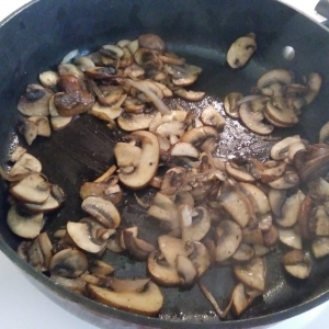 Mushrooms are ready