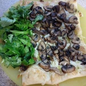 Truffled Mushroom Flatbreads meal