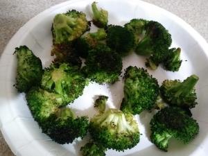 Broccoli is ready