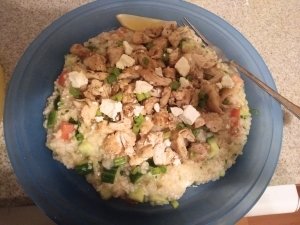 Chicken Over Tabbouleh meal kit