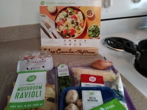 Creamiest Mushroom Ravioli ingredients