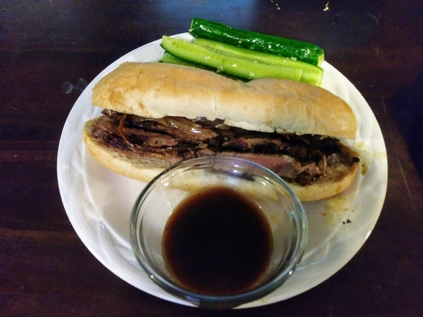 French Dip Beef Sandwiches mealkit
