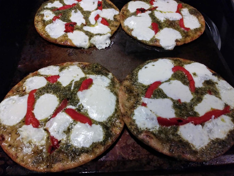 Pizzettes ready