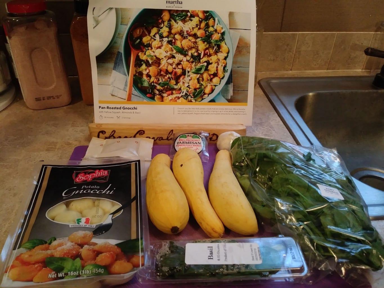 Pan Fried Gnocchi ingredients