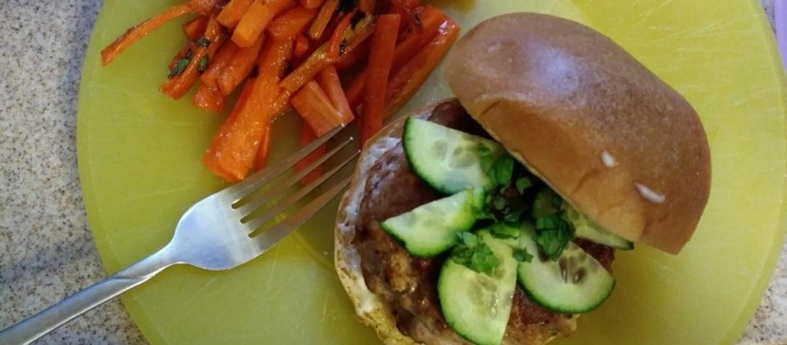 Banh Mi Burgers meal kit