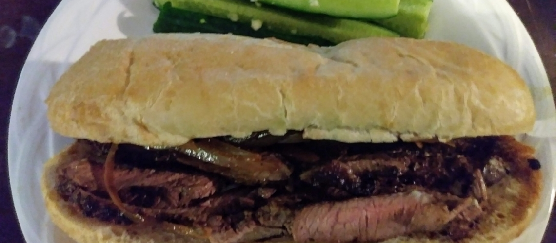 French Dip Beef Sandwiches