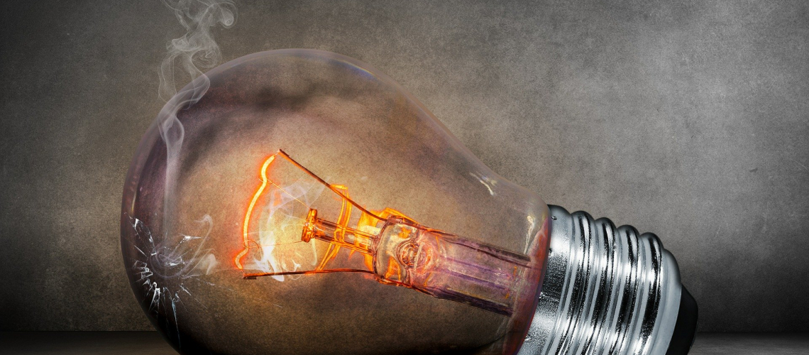 light bulb failure