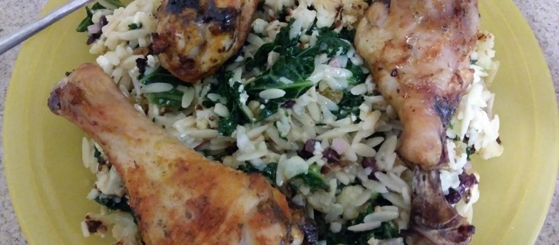 Mediterranean Chicken Orzo meal kit