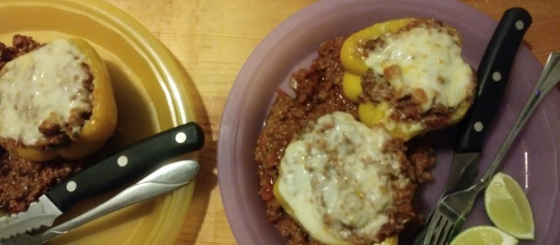 Southwestern Stuffed Peppers meal kit