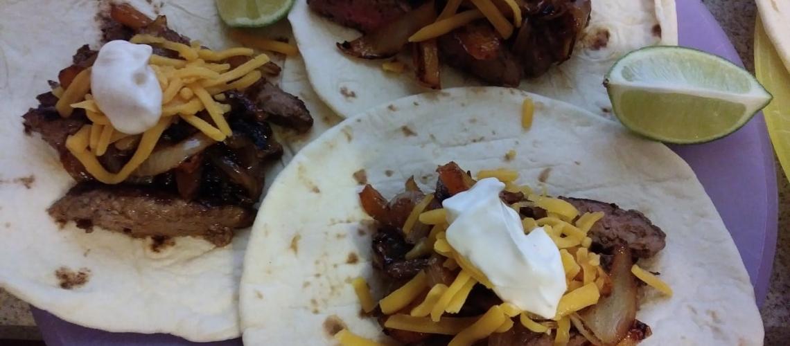 Speedy Steak Fajitas meal kit