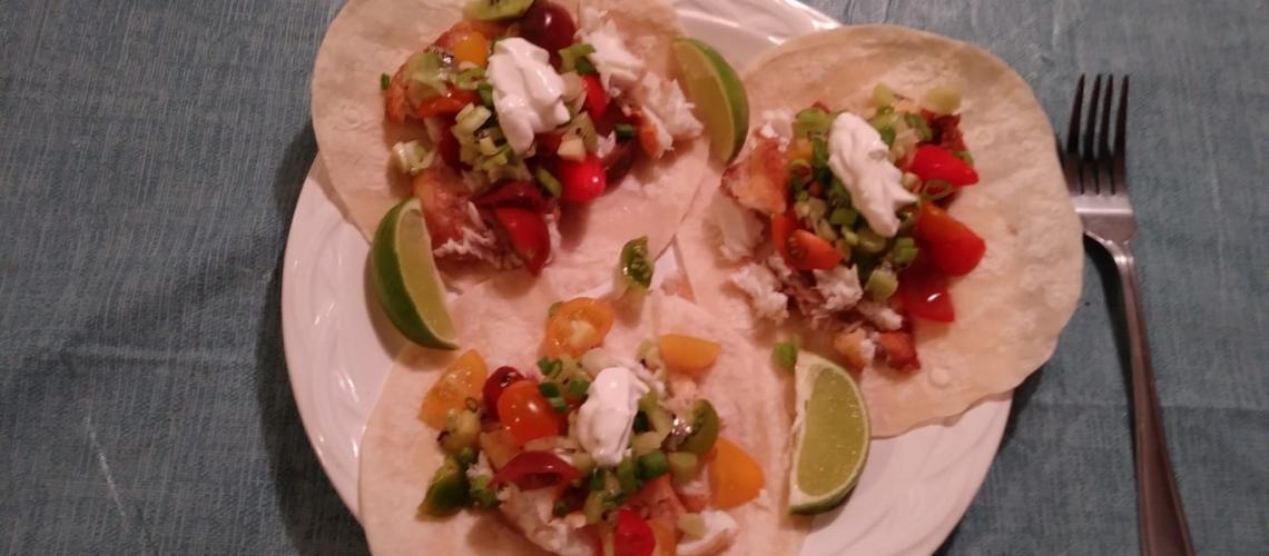 Tilapia Tacos Meal