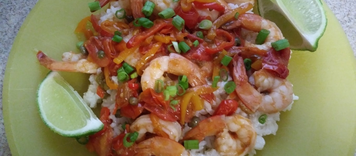 Veracruz Shrimp meal